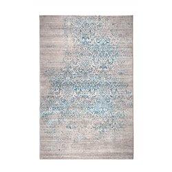 Poduszka VINTAGE FESTON niebieskozielona