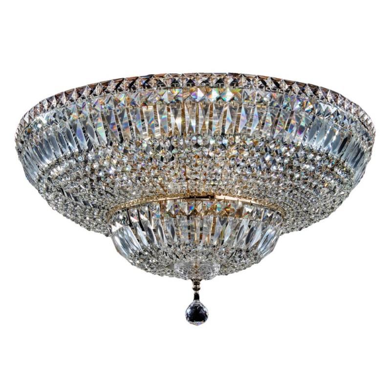Lamp, Pin, Brass, dia: 5 cm, h: 30 cm, 100% Brass, G9 bulb, 3.0 m black fabric