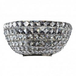 Table lamp, Twice, Brass finish, h: 42 cm, E14, 40 W