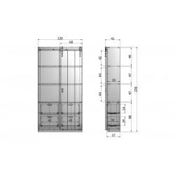 UNC miska Jollof ,11.3cm
