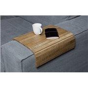 Drewniana podstawka na oparcie sofy XL