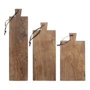 Zestaw desek z drewna tekowego (3 szt)
