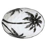"""Porcelanowa salaterka w palmy z serii """"Dzu"""