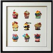 Obraz 3D Cup Cakes 104-9021