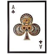 Obraz 3D Ace Clubs 104-9064